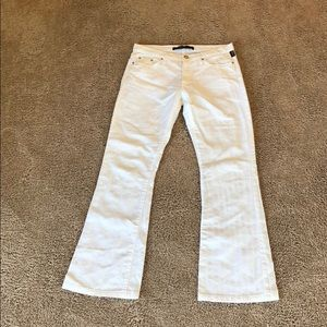 VERSACE COUTURE WHITE BOOTCUT JEANS